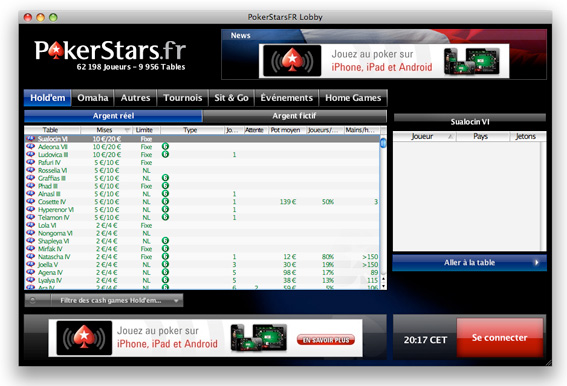 pokerstars download mac