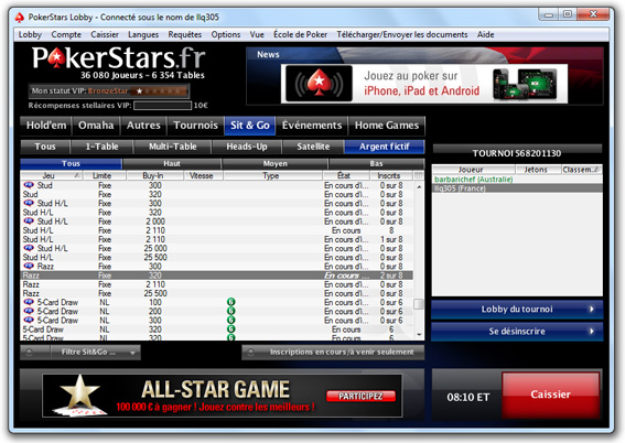 Pokerstars Razz
