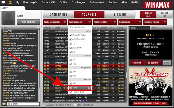 Logiciel de statistique poker winamax working in a casino while pregnant