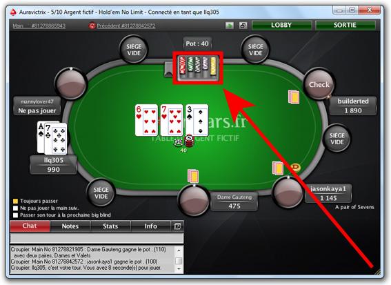 jeu de poker en ligne argent fictif